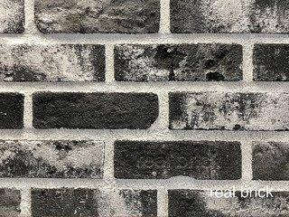 Плитка ручной формовки Real Brick RB 4-13 LOFT Графитовый лофт