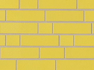 Клинкерная плитка фасадная ABC Klinker Glanzriemhen Gelb 310