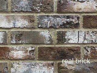 REAL BRICK. Кирпич ручной формовки RB КР/ 0,5 ПФ угловой antic RB 05 antic глина античная коричневая