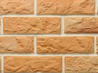 Рваный камень Мини разноцвет прямая Терракот