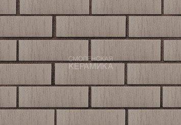 Кирпич лицевой керамический ЛСР Серый тростник, 1НФ 2
