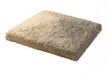 790-20 Накрывочная плита четырехскатная, 30*30, песочный 1