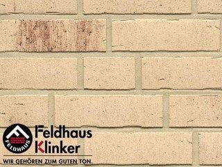 Клинкерная плитка Feldhaus Klinker R742NF14 vascu crema petino