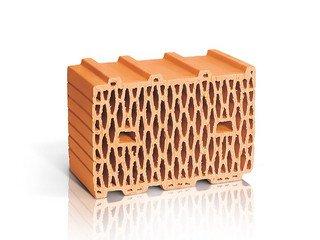 Керамический блок 10,7 НФ ЛСР рядовой поризованный