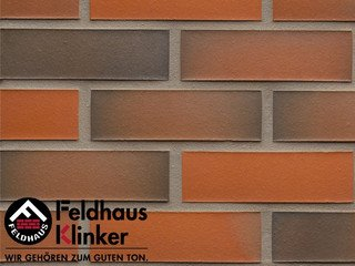 Плитка под кирпич Feldhaus Klinker R483NF14 galena terreno viva II