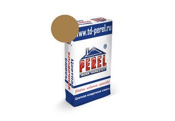 Цветная кладочная смесь Perel SL 0045 светло-коричневая, 50 кг 1