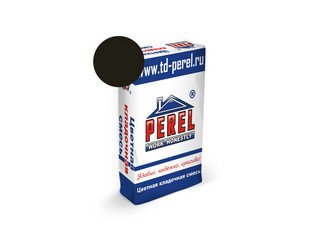 Цветная кладочная смесь Perel NL 5165 черная, 51 кг