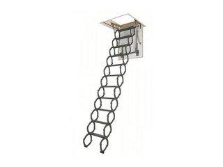 Лестница ножничная термоизоляционная LSТ Fakro Металл 700х1200/2800