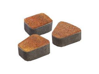 Тротуарная плитка Выбор КЛАССИКО 2КО.6 3 камня Листопад Арктика Премиум 60