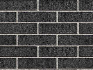 Кирпич керамический глазурованный RECKE GLANZ 0,7НФ арт. 3-38-00-1-00 черный