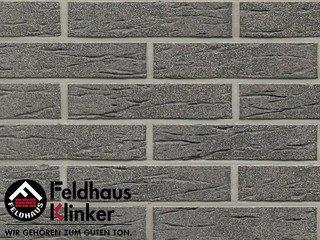 Плитка дляфасада Feldhaus Klinker R735DF9 anthracit mana