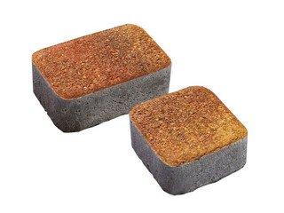 Тротуарная плитка Выбор КЛАССИКО 1КО.6 М 2 камня Листопад Хаски Премиум 60