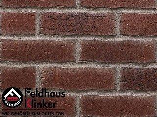 Фасадная плитка Feldhaus Klinker R664NF14 sintra cerasi aubergine