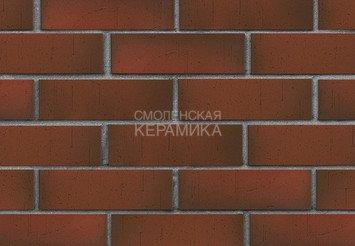 Клинкер фасадный ЛСР Возрождение «Ричмонд» красный флэш винтаж 1