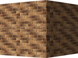 "323-45 White Hills ""Кельн брик"" (Cologne brick), темно-коричневый, угловой, Нормативная ширина шва 1"
