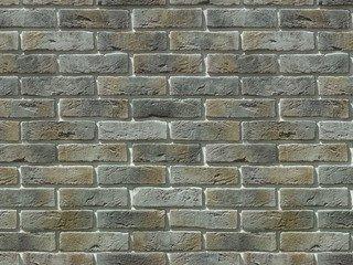 "300-80 White Hills ""Лондон брик"" (London brick), серый, плоскостной, Нормативная ширина шва 1,2 см."
