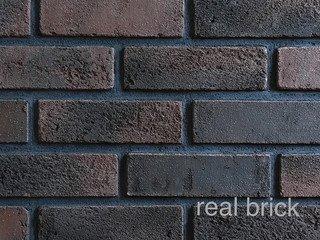 REAL BRICK. RB 4-06 Горький шоколад Плитка: 200*60*12 0,65(44шт)
