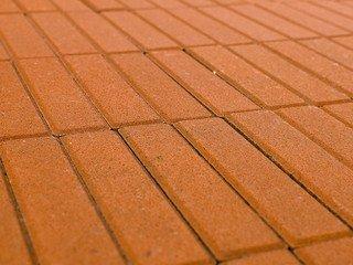 Тротуарная плитка Braer прямоугольник оранжевый 200х50х60