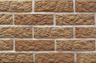 Клинкерная плитка фасадная Старый замок Мини классик прямая Терракот Рядовая 70x240 толщина