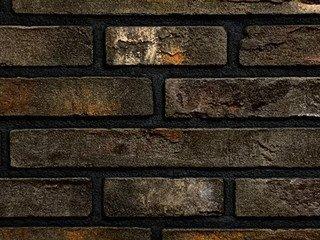 Плитка ручной формовки Real Brick RB 7-13 antic глина античная графитовая