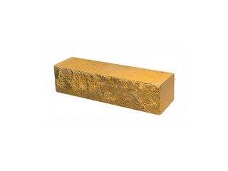 Кирпич полнотелый ложковый Судогодский КЗ, Желтый Скала брусок 0,5НФ