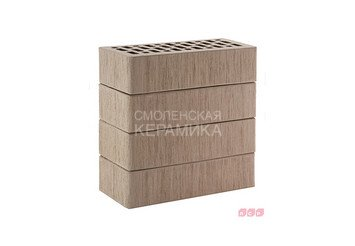 Кирпич лицевой керамический ЛСР Серый тростник, 1НФ 1