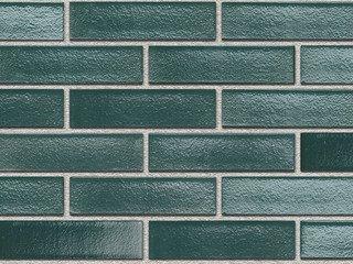 Кирпич керамический глазурованный RECKE GLANZ 0,7НФ арт. 5-28-00-0-00 зеленый