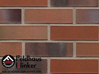 Плитка под кирпич Feldhaus Klinker R560NF14 carbona carmesi colori