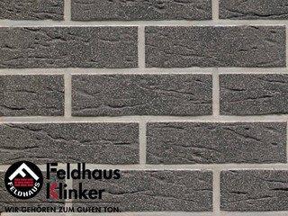 Клинкерная плитка Feldhaus Klinker R735NF9 anthracit mana