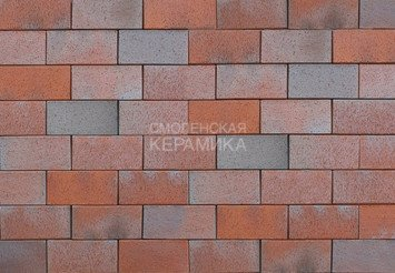 Тротуарный клинкер ABC Opalblau-geflammt 200х100х52 1