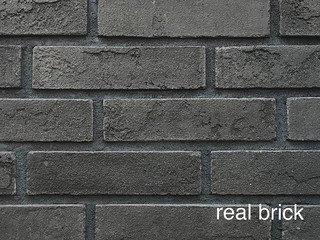 REAL BRICK. Кирпич ручной формовки RB КР/0,5ПФ RB 13 графитовый