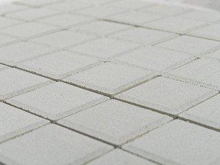 Тротуарная плитка Braer лувр белый 200х200х60