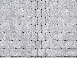"""Тротуарная плитка ТП А.1.Фсм.4, ТП Б.1.Фсм.6 """"Инсбрук Альт"""" Белый Бассировка 40"""