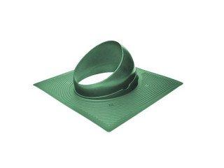 Основание вент. трубы для гиб. черепицы Base-VT 125/150 зеленый