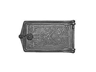 Дверца поддувальная ДП-2, (291х160х67) 250х140х36, RLK 375 (Рубцовск)
