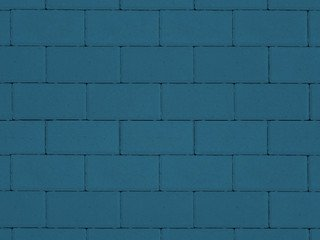 """Тротуарная плитка ТП А.1.П.4, ТП Б.1.П.6, ТП В.1.П.8 """"Прямоугольник"""" Синий 100х200х80 Гладкая"""