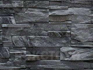 """РокСтоун """"Каменное плато"""", черный пепел, рядовой, без шва"""