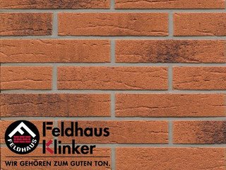 Плитка дляфасада Feldhaus Klinker R228DF9 terracota rustico carbo