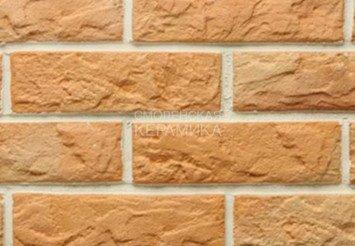 Рваный камень Мини разноцвет прямая Терракот 1