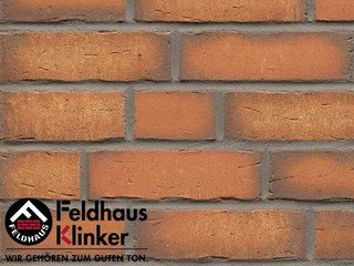 Клинкерная плитка Feldhaus Klinker R758NF14 vascu terracotta