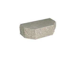 Кирпич фасонный полнотелый BARRUM Трапеция №2 Серый