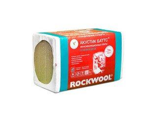 Базальтовая (каменная) вата Rockwool Акустик Баттс (600x1000x50) 6м2 0,3м3 10 шт