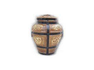 Тандыр керамический Барельеф Колос для шашлыка