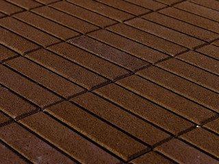 Тротуарная плитка BRAER Прямоугольник Коричневый, 60мм