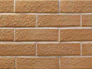 Клинкерная плитка фасадная Шамот Мини разноцвет прямая Терракот Рядовая 70x240 толщина
