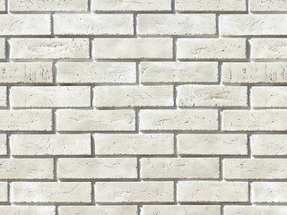 "360-00 White Hills ""Терамо брик II"" (Teramo brick II), белый, плоскостной, Нормативная ширина шва 1,"