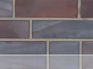 Клинкерная плитка фасадная Stroher 325 achatblue flashed 11 мм