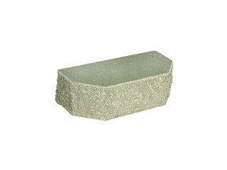 Кирпич фасонный полнотелый BARRUM Трапеция №2 Зеленый
