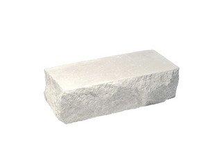 Кирпич полнотелый угловой Судогодский КЗ, Белый Скала 1,4НФ