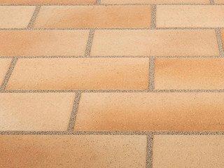 Клинкерная тротуарная плитка Stroher SPALTKLINKER 123 BEIGE-BUNT